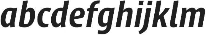 Klaus FY otf (700) Font LOWERCASE