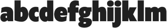 Klein Condensed Black otf (900) Font LOWERCASE