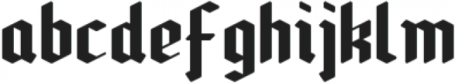Kloster_Clean otf (400) Font LOWERCASE