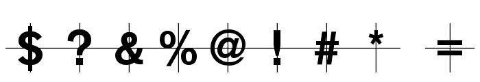 KL1MonoCase-Krux Font OTHER CHARS
