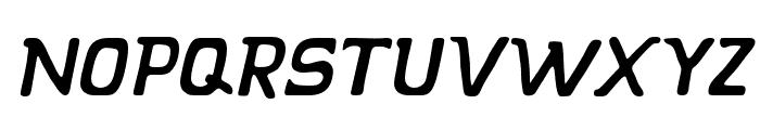 KLAPJO-Italic Font UPPERCASE