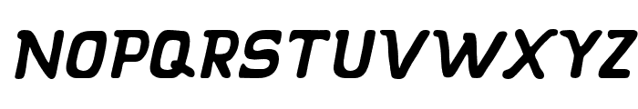 KLAPJO-Italic Font LOWERCASE