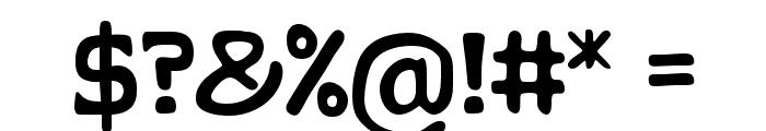 KLAPJO Font OTHER CHARS