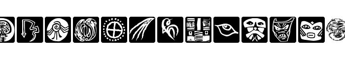 KLArtIFacts Font LOWERCASE