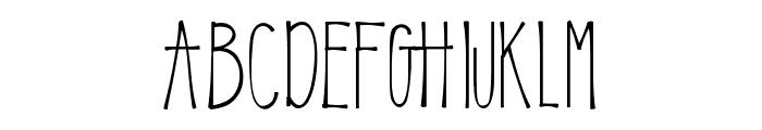 KLEmily Font UPPERCASE