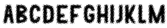 KLONP Font LOWERCASE
