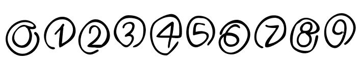 Klammeraffen-Italic Font OTHER CHARS