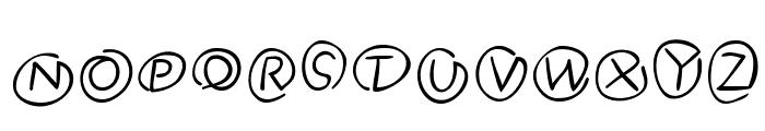 Klammeraffen-Italic Font UPPERCASE