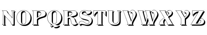 Klarissa Shadow Font UPPERCASE