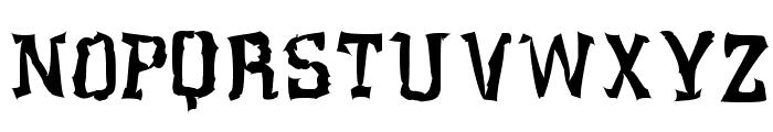 Klaxon Font UPPERCASE