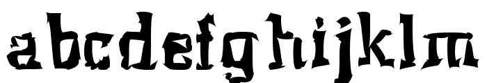 Klaxon Font LOWERCASE