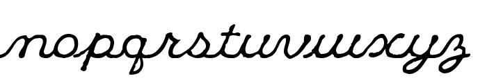 Klee CapScript Font LOWERCASE