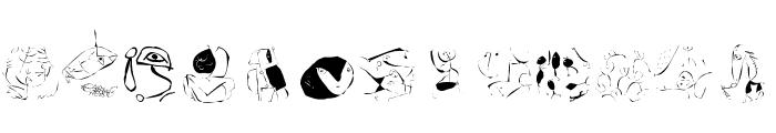 KleeriKaleRRound Font LOWERCASE
