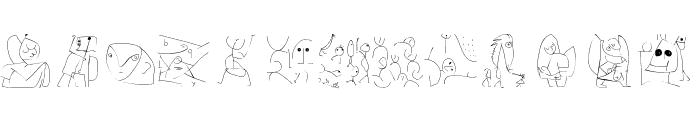 Kleerikale Font UPPERCASE
