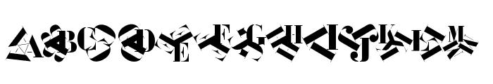 KleidosChaplina Font UPPERCASE