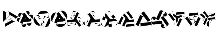 KleidosChaplina Font LOWERCASE