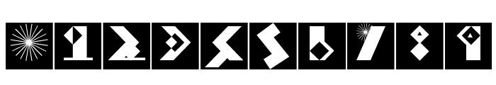 KleinBricksNegative Font OTHER CHARS