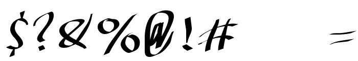 KleinKallig Font OTHER CHARS