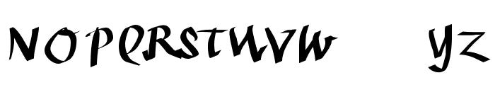 KleinKallig Font UPPERCASE
