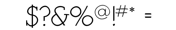 KleinSlabSerif Font OTHER CHARS