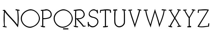 KleinSlabSerif Font UPPERCASE