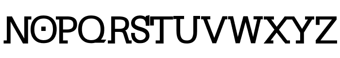 KleinSlabserif-Bold Font UPPERCASE