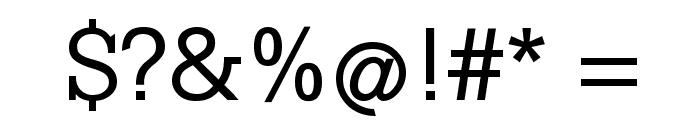 KleinSlabserif-Medium Font OTHER CHARS