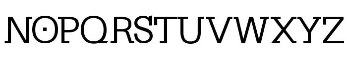 KleinSlabserif-Medium Font UPPERCASE