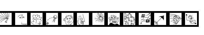 Kleinigkeiten Font LOWERCASE