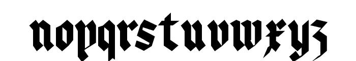 KleinsBrokenGotik Font LOWERCASE