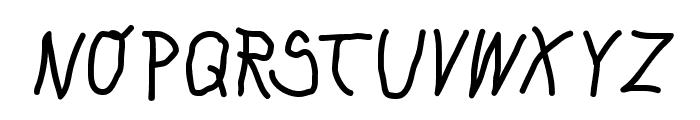 KleinsKrempelTypes Font UPPERCASE