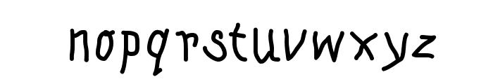 KleinsKrempelTypes Font LOWERCASE