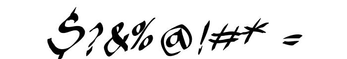KleinsKruschKursiv Font OTHER CHARS