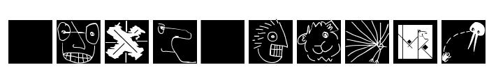 KleinsLittleDings Font OTHER CHARS