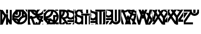 KleinsTypesoup Font UPPERCASE