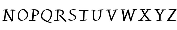KleinsWrittenCaps Font UPPERCASE