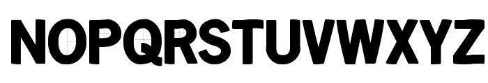 KleinsanBold Font UPPERCASE