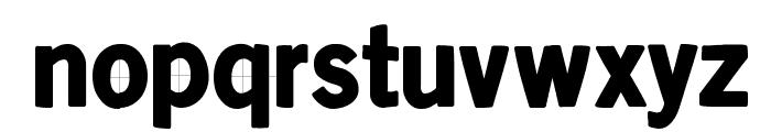 KleinsanBold Font LOWERCASE