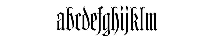 Kleinsemmering Font LOWERCASE
