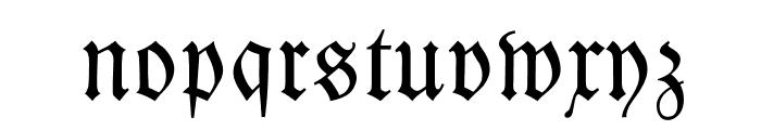 Kleist-Fraktur Zierbuchstaben Font LOWERCASE