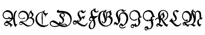 Kleist-FrakturZierbuchstaben Font UPPERCASE