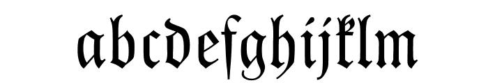 Kleist-Fraktur Font LOWERCASE