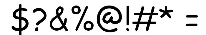 Klepon Scone Font OTHER CHARS