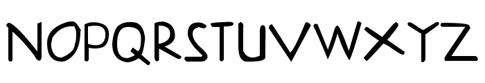 Klepon Scone Font UPPERCASE