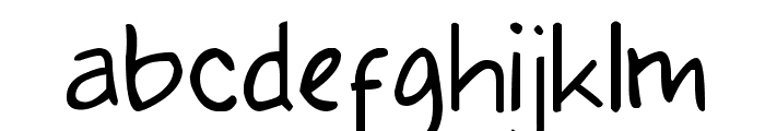 Klepon Scone Font LOWERCASE