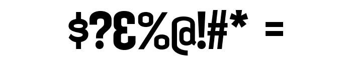 KleptocracyTitlingRg-Bold Font OTHER CHARS