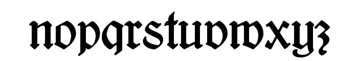 Kleukens-Fraktur Font LOWERCASE