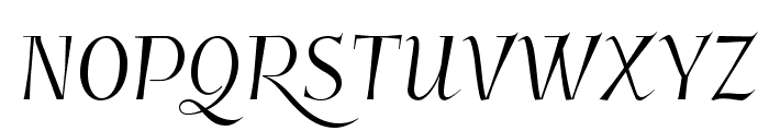 Kleymissky Font UPPERCASE