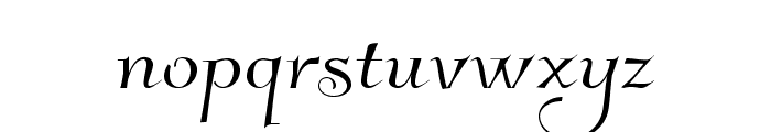 Kleymissky Font LOWERCASE