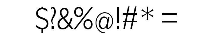 Klill-LightTallX Font OTHER CHARS